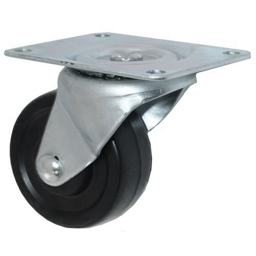 """All Points 26-3332 3"""" Swivel Plate Caster - 220 lb. Capacity"""