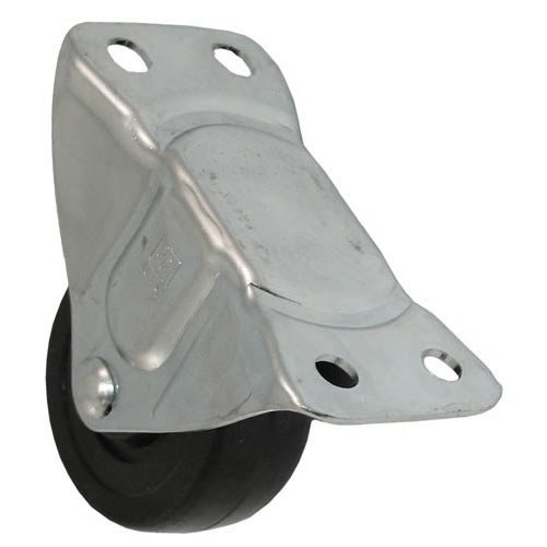 """All Points 26-3337 2 1/2"""" Rigid Plate Caster - 200 lb. Capacity Main Image 1"""