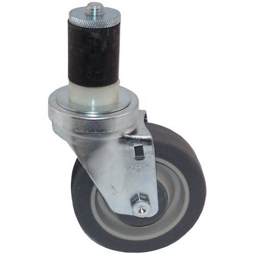 """All Points 26-3371 4"""" Swivel Stem Caster for 1 5/8"""" O.D. Tubing - 250 lb. Capacity Main Image 1"""