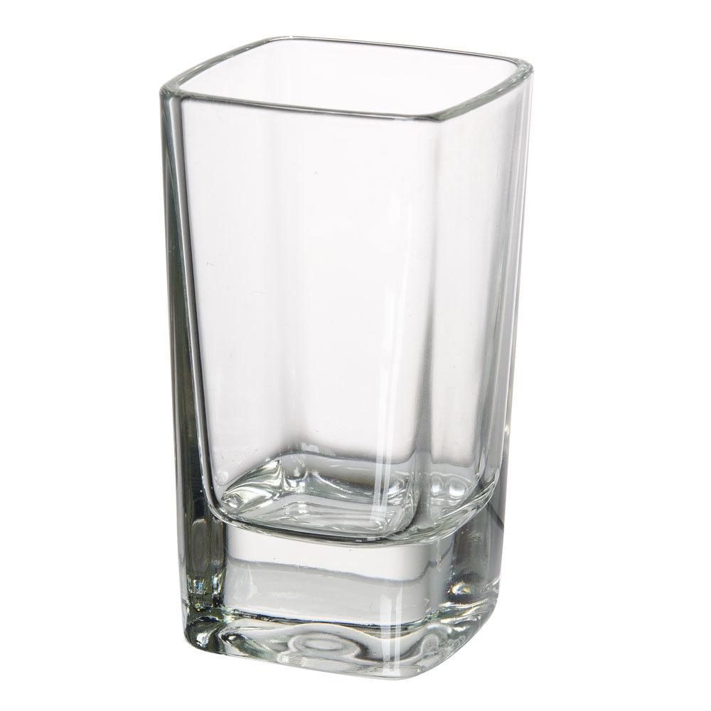 Cardinal arcoroc c3966 oz tall square shot glass 72 for Glass 2 glass