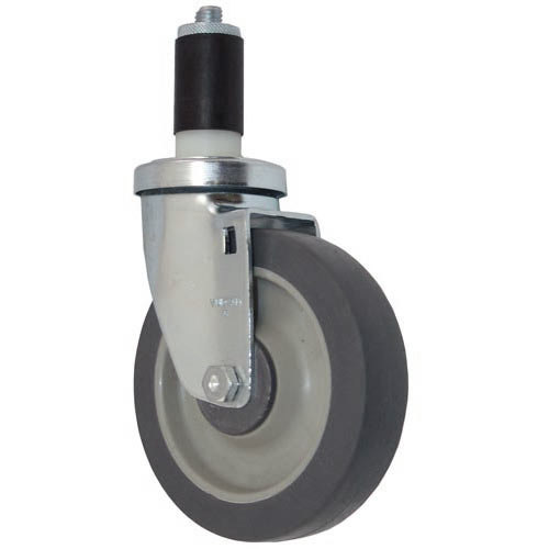 "All Points 26-3408 5"" Swivel Stem Caster for 1 3/16"" O.D. Tubing - 300 lb. Capacity Main Image 1"