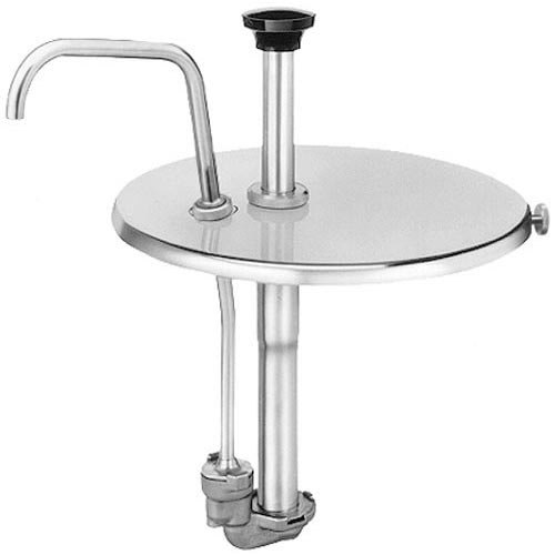 Server Products Inc 83910 Equivalent Condiment Pump with Locking Lid for 7 Qt. Inset