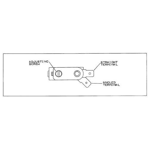 All Points 46-1453 Bi-Metal Thermostat