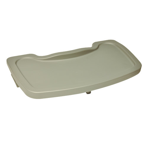 Koala Kare KB851-01 Gray Plastic High Chair Tray for 850 Series High Chairs