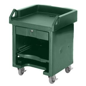 Cambro VCS519 Green Versa Cart with Standard Casters Main Image 1