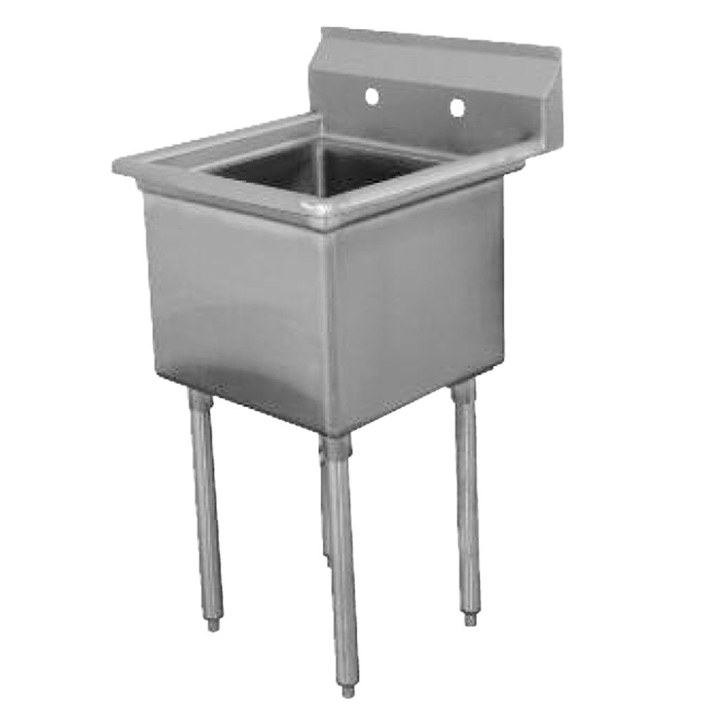 Ss Commercial : ... Tabco FE-1-1812 One Compartment Stainless Steel Commercial Sink - 23