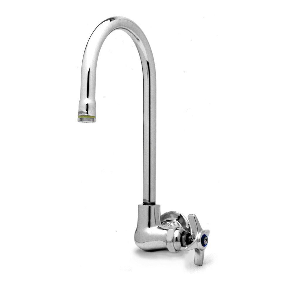 t s b 0312 wall mounted single pantry faucet with four arm
