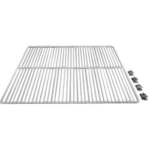 "True 909424 White Coated Wire Shelf - 23 1/4"" X 16"" Main Image 1"