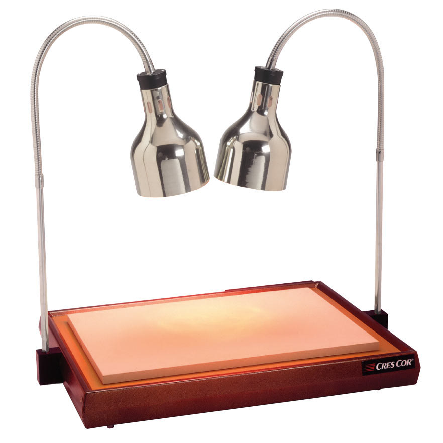 """Cres Cor CSH-122-10PN Carving Station with Dual Heat Lamps - 32 1/2"""" x 23 1/4"""" Main Image 1"""