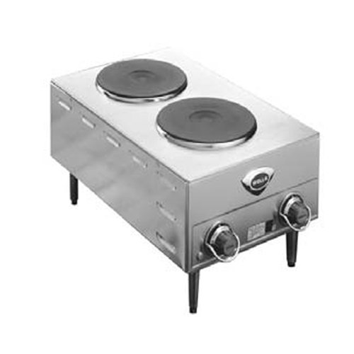 Wells H70 Electric Countertop Two Burner French Hot Plate - 4000W Main Image 1