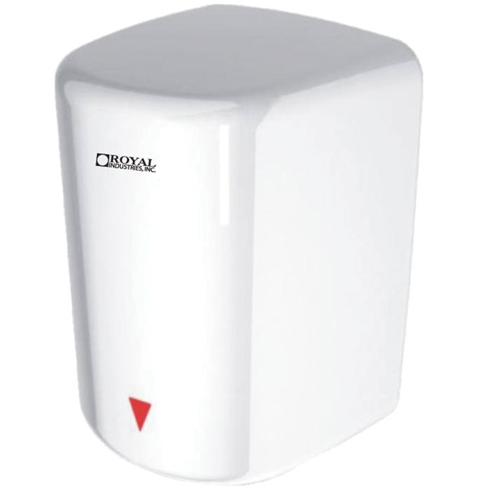Royal JA01 White High Speed Automatic Hand Dryer - 1600W