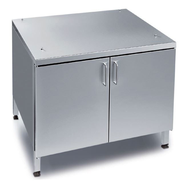 """Rational 60.30.348 US IV 42"""" x 38"""" Enclosed Base Cabinet for 62 and 102 Combi Ovens (14 Pan Capacity) Main Image 1"""