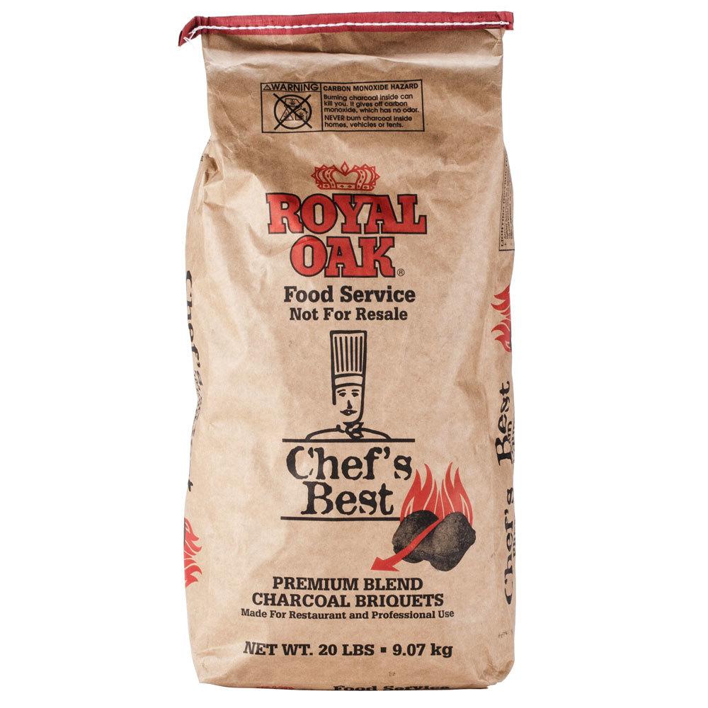 Charcoal Briquettes Wood ~ Royal oak chef s best restaurant style charcoal briquettes