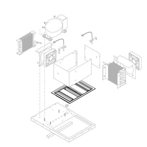 Bunn 35830.0000 Condensation Drip Tray for LCR-2 Liquid Coffee Dispensers