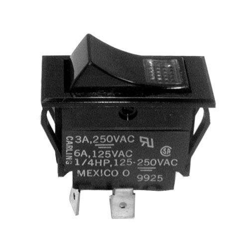 Bunn 37080.0001 Lighted Momentary Start Rocker Switch for TB3 & TB3Q Tea Brewers Main Image 1