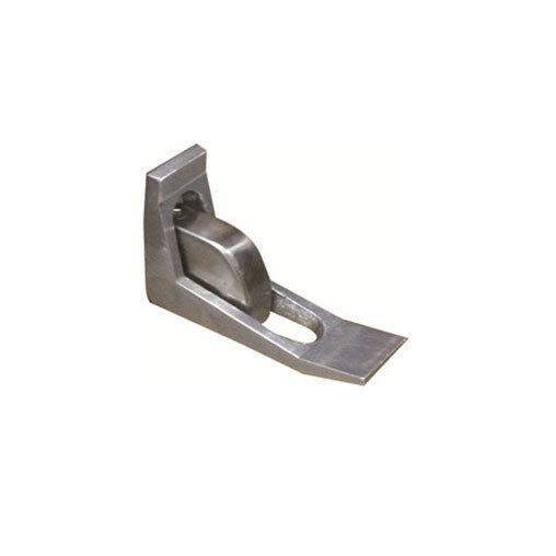 Beverage-Air 00C23-115D-01 Stainless Steel Door Opener Foot Pedal for Horizontal Coolers Main Image 1