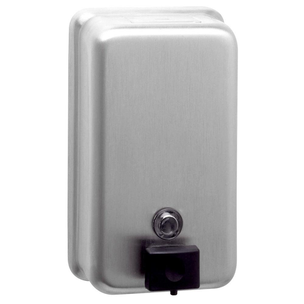 bobrick classicseries b surface mounted  oz soap dispenser - soap dispenser main picture