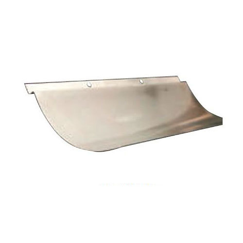 """Frymaster 2003649 18 3/8"""" x 3"""" Flue Deflector for SM60G and D60G Fryers Main Image 1"""