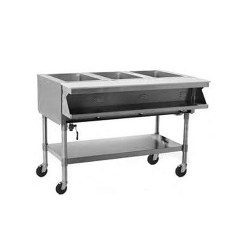 Eagle Group SPHT2 Portable Steam Table - Two Pan - Sealed Well, 208V, 3 Phase