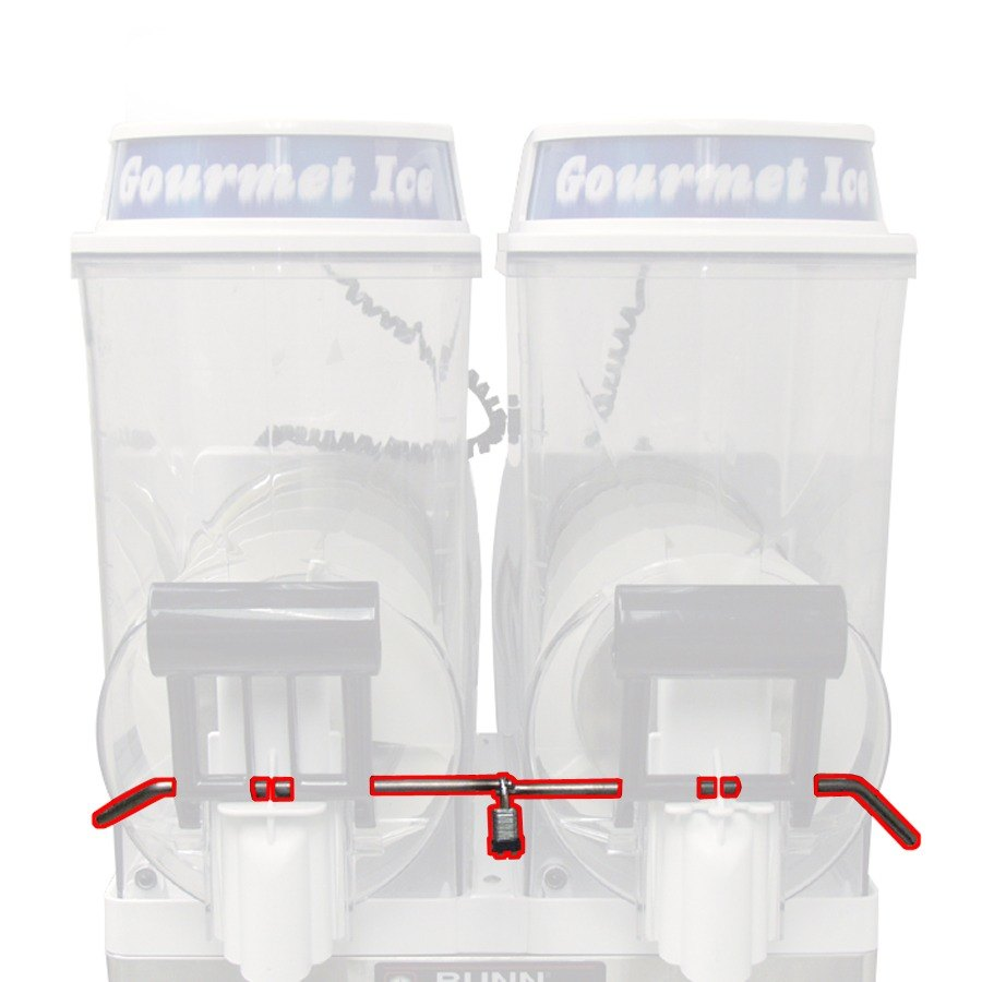 Bunn Slushy Machine Parts Btx Diagram For Wiring Handle Lock Kit Ultra 2 Granita Frozen Drink Machines