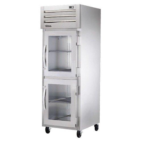 True STA1H-2HG Specification Series Glass Half Door Reach In Heated Holding Cabinet