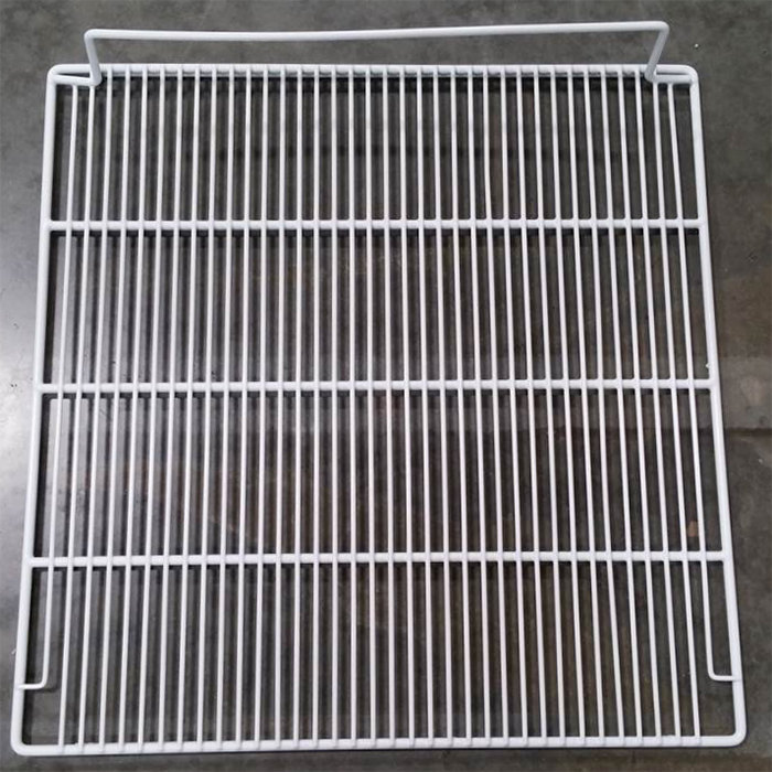 "Turbo Air K2D9000202 Coated Right Wire Shelf - 24"" x 24 1/2"" Main Image 1"