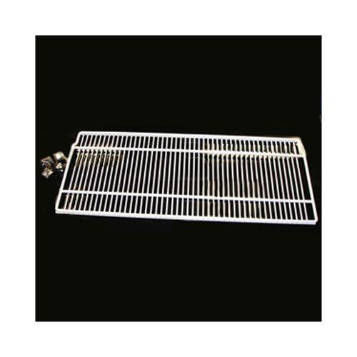 "True 976410 White Coated Wire Shelf with Shelf Clips - 31 3/4"" x 12"" Main Image 1"