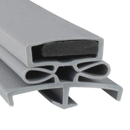 """Traulsen SER-09500-00 Equivalent Magnetic Door Gasket - 23 1/2"""" x 29 1/2"""""""