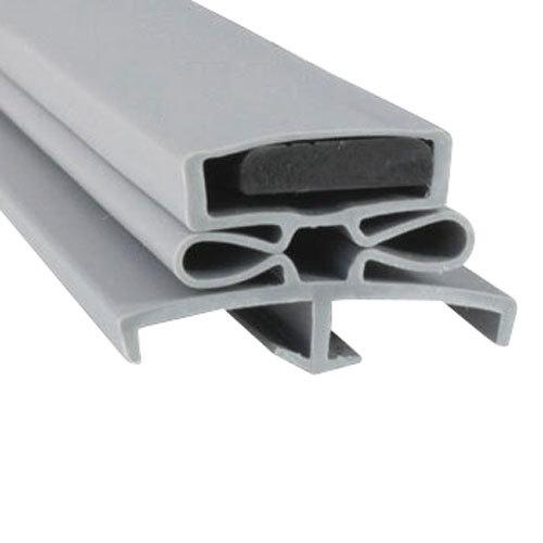 """Traulsen SVC-60059-00 Equivalent Magnetic Door Gasket - 22 3/4"""" x 59 3/4"""" Main Image 1"""