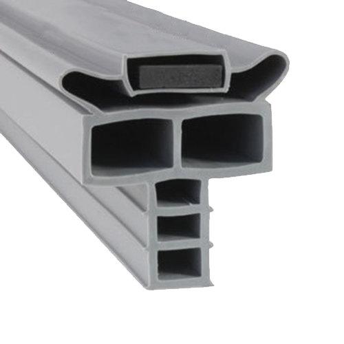 """Randell INGSK1045 Equivalent Magnetic Drawer Gasket - 10 1/4"""" x 24 9/16"""" Main Image 1"""