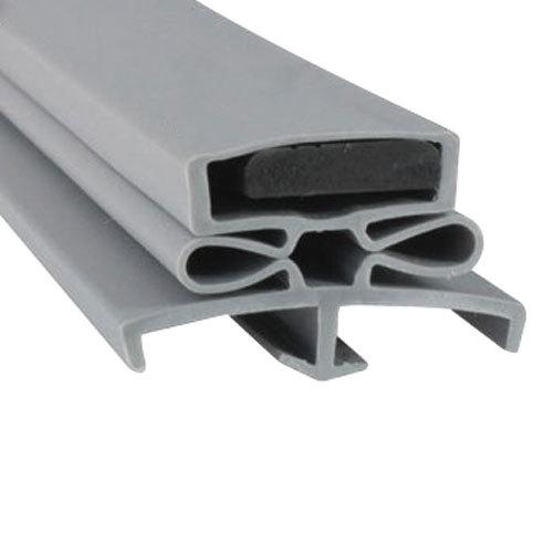 """Traulsen SER-61097-00 Equivalent Magnetic Door Gasket - 23 1/2"""" x 59 1/2"""" Main Image 1"""