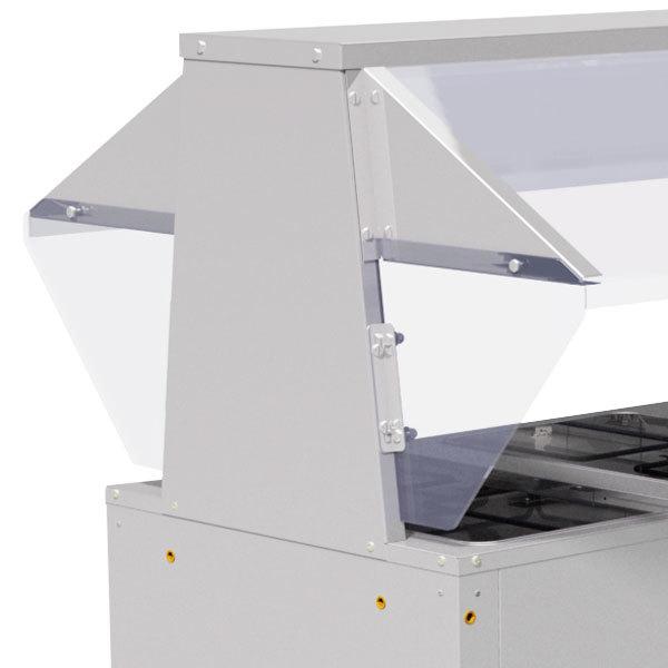 Advance Tabco TBP-1 Buffet Shelf End Panel - 2/Set