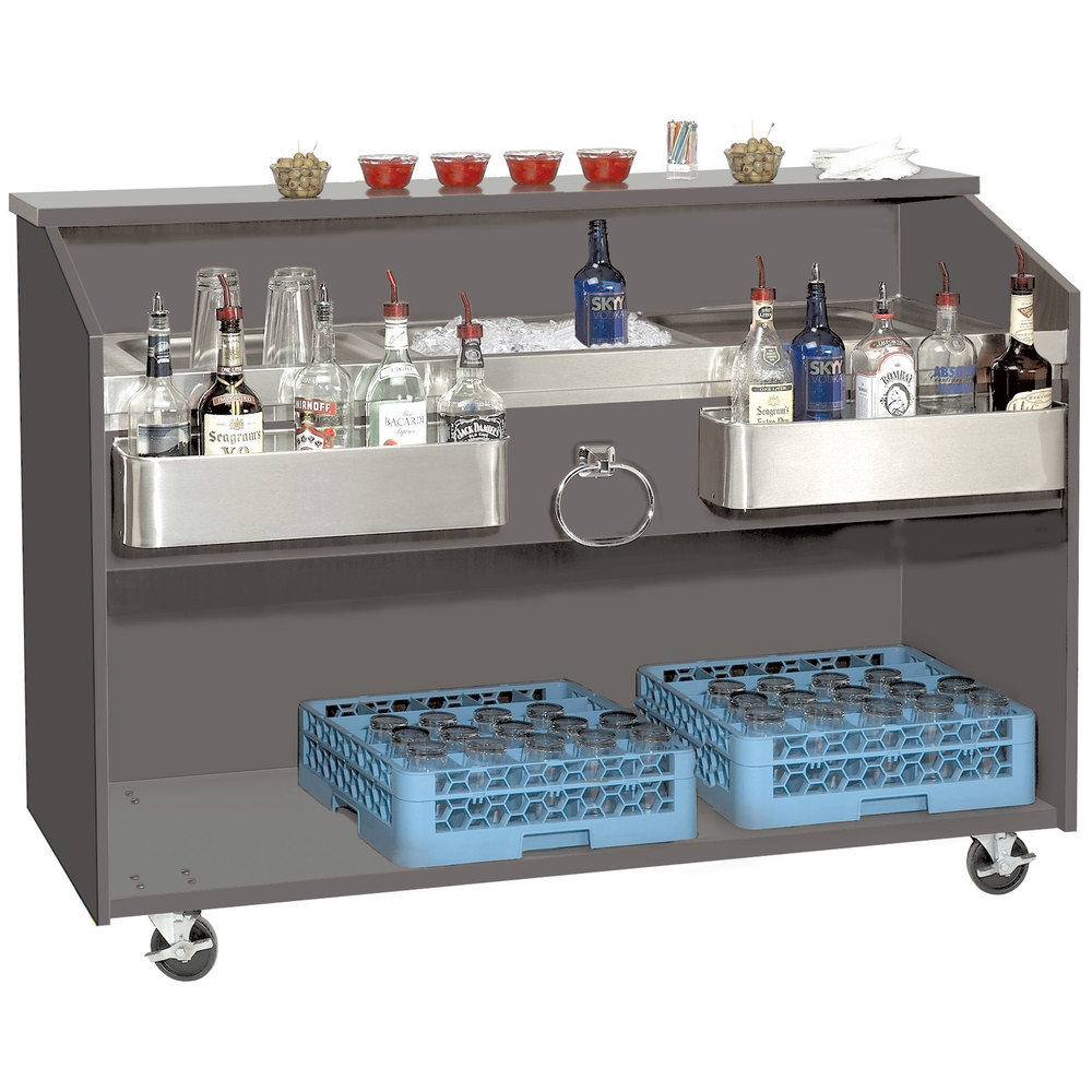 portable white bar table foot