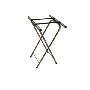 """Aarco CTS Chrome Tray Stand - 31"""""""
