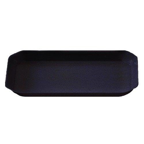 Cambro SFG1220110 Black ShowFest Octagonal Serving Bowl 6 Qt. - 6/Case