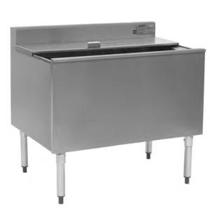 """Eagle Group B48IC-12D-22-7 48"""" Ice Chest with Sealed-In Cold Plate and 12"""" Deep Bin Main Image 1"""