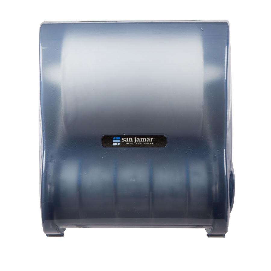 San Jamar T7100TBL Simplicity Mechanical Hands Free Paper Towel Dispenser A