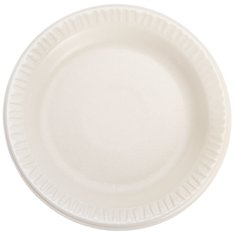 Dart 6PHQR Quiet Classic 6 inch Honey Laminated Round Foam Plate - 1000/Case ...  sc 1 st  WebstaurantStore & Styrofoam Plates | WebstaurantStore