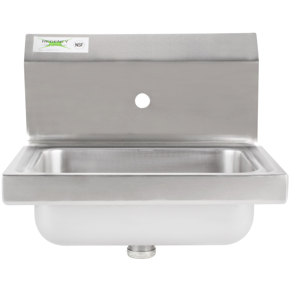 Hands Free Hand Wash Sink - WebstaurantStore