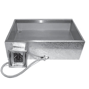 APW Wyott FW-2026D Bottom Mount Hot Food Well with Drain - 208/240V Main Image 1