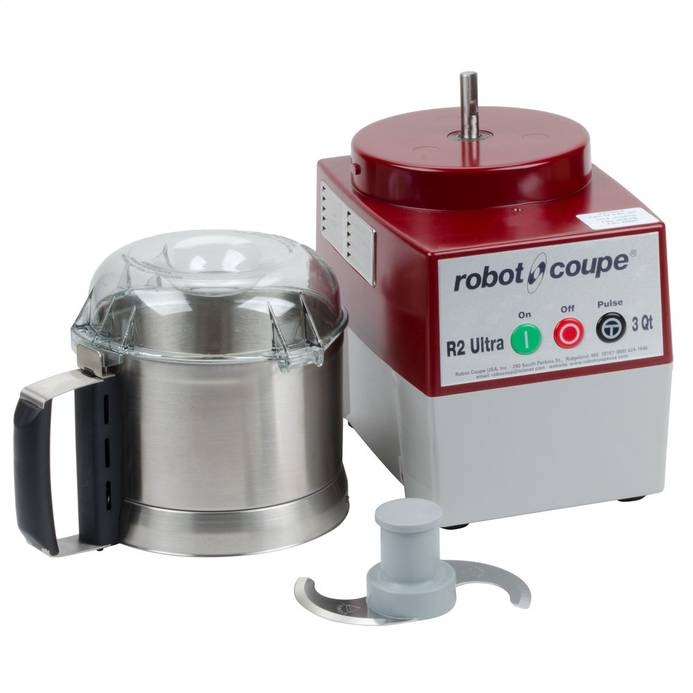 Robot coupe r2 ultra b food processor with 3 qt stainless steel bowl 1 hp - Robot soupe chauffant ...
