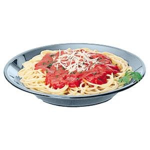 Cambro 90SPCW401 Camwear 13.5 oz. Slate Blue Polycarbonate Round Soup / Pasta Bowl - 48/Case