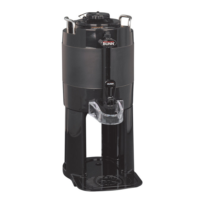 Bunn 44000.0001 TF 1 Gallon Black ThermoFresh Server with Attached Base