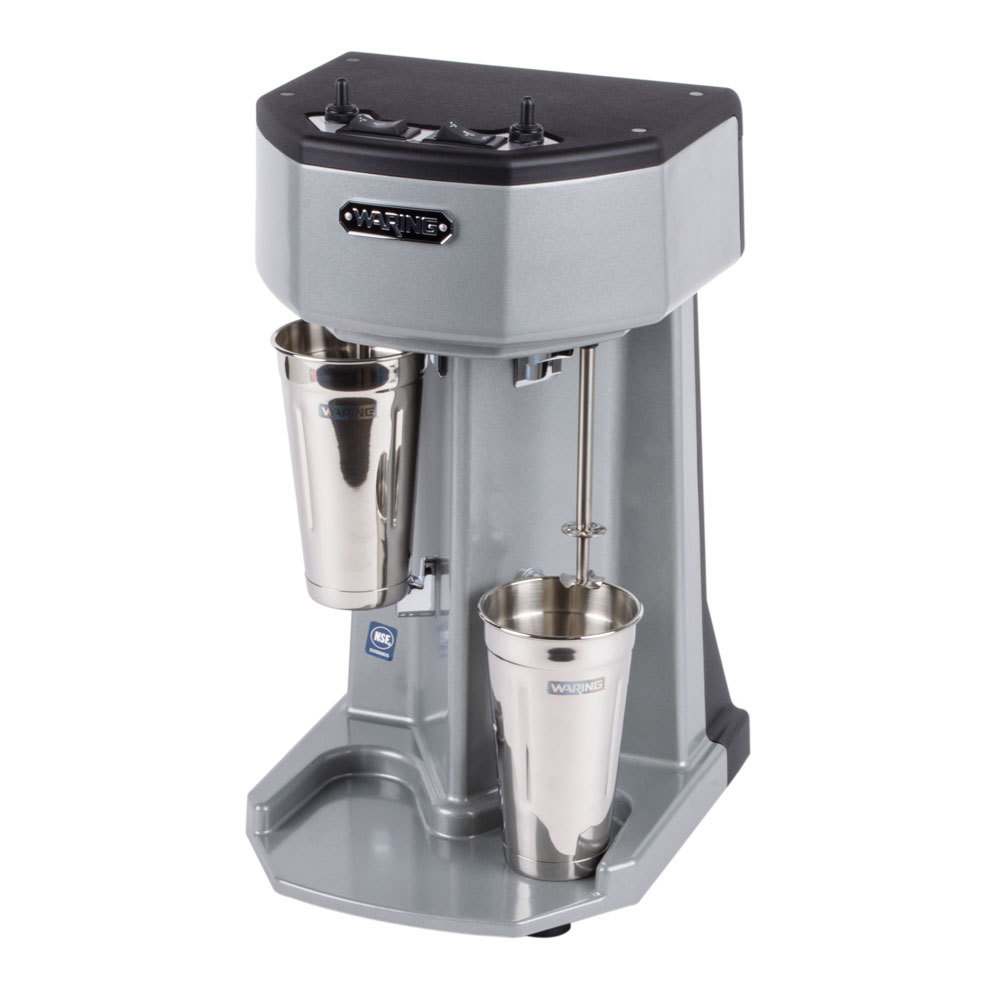 waring wdm240 double spindle three speed drink mixer 120v. Black Bedroom Furniture Sets. Home Design Ideas
