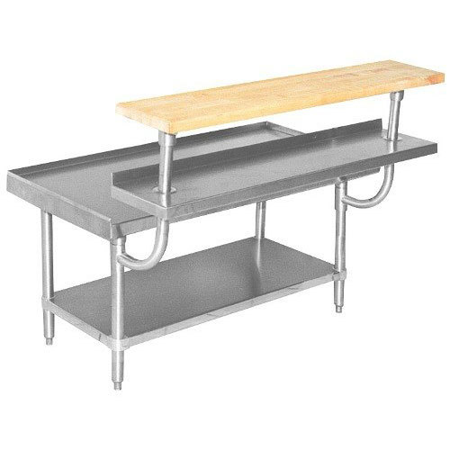 "Advance Tabco TA-967 84"" Adjustable Stainless Steel Plate Shelf Main Image 1"