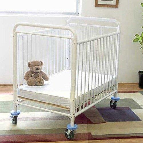 "L.A. Baby CS-8510 24"" x 38"" Condo Window Evacuation Window Crib with 3"" Fire Retardant Mattress"