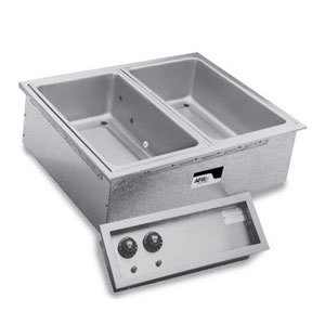 APW Wyott SHFWEZ-4D EZ-Fill 4 Well Insulated Drop In Hot Food Well - 208 / 240V Main Image 1