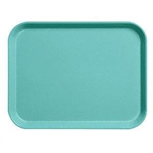 """Cambro 1826CL162 Camlite 18"""" x 26"""" Green Tray - 12/Case"""
