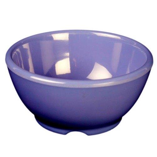"Thunder Group CR5804BU Purple 10 oz. Melamine Soup Bowl, 4 5/8"" - 12/Case"