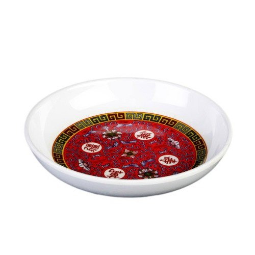 Thunder Group 1003TR Longevity 3 oz. Round Melamine Sauce Dish - 60/Case